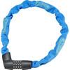 ABUS Tresor 1385/75 Kettenschloss neon blau
